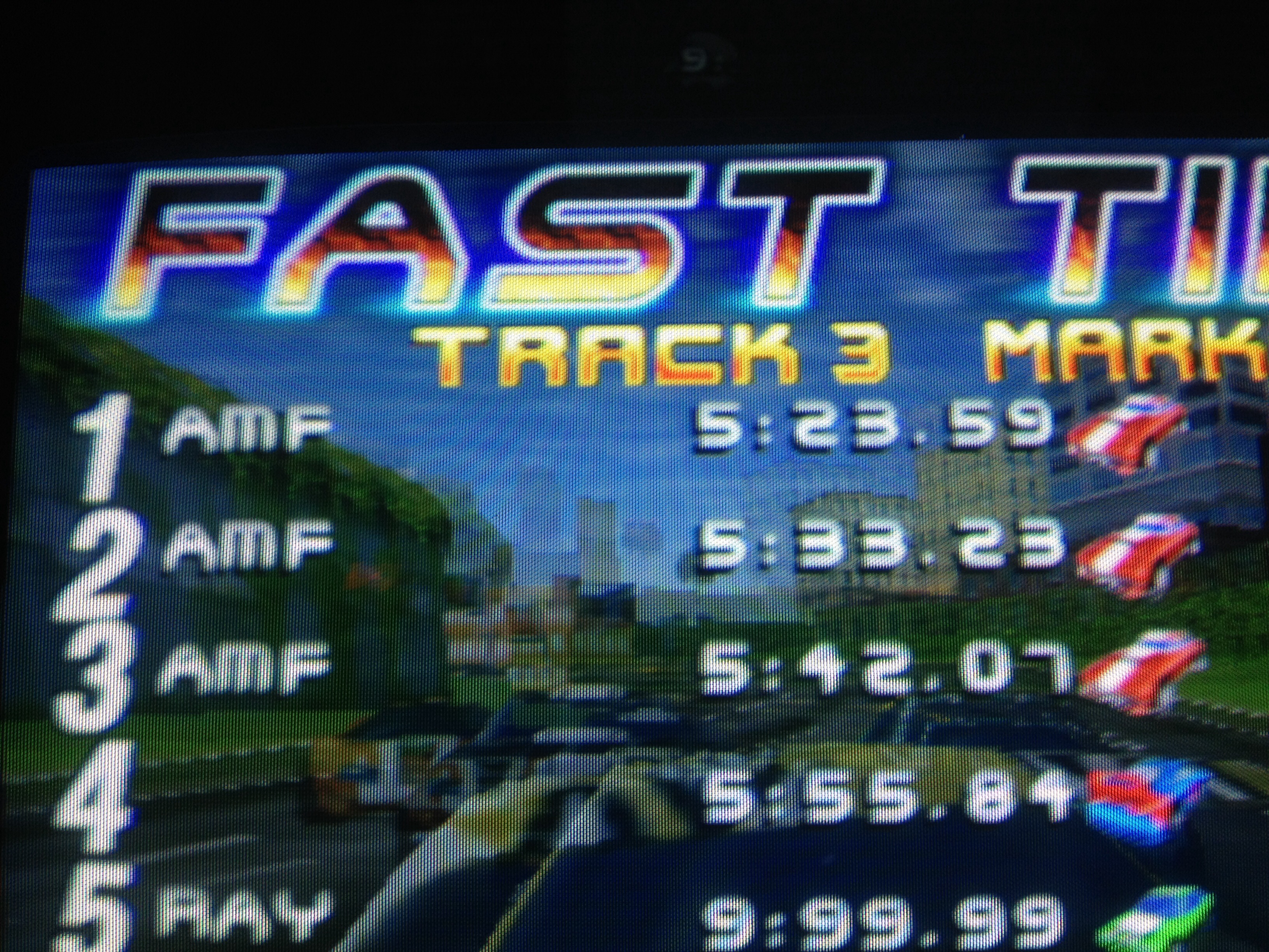 San Francisco Rush: The Rock [Track 3] time of 0:05:23.59