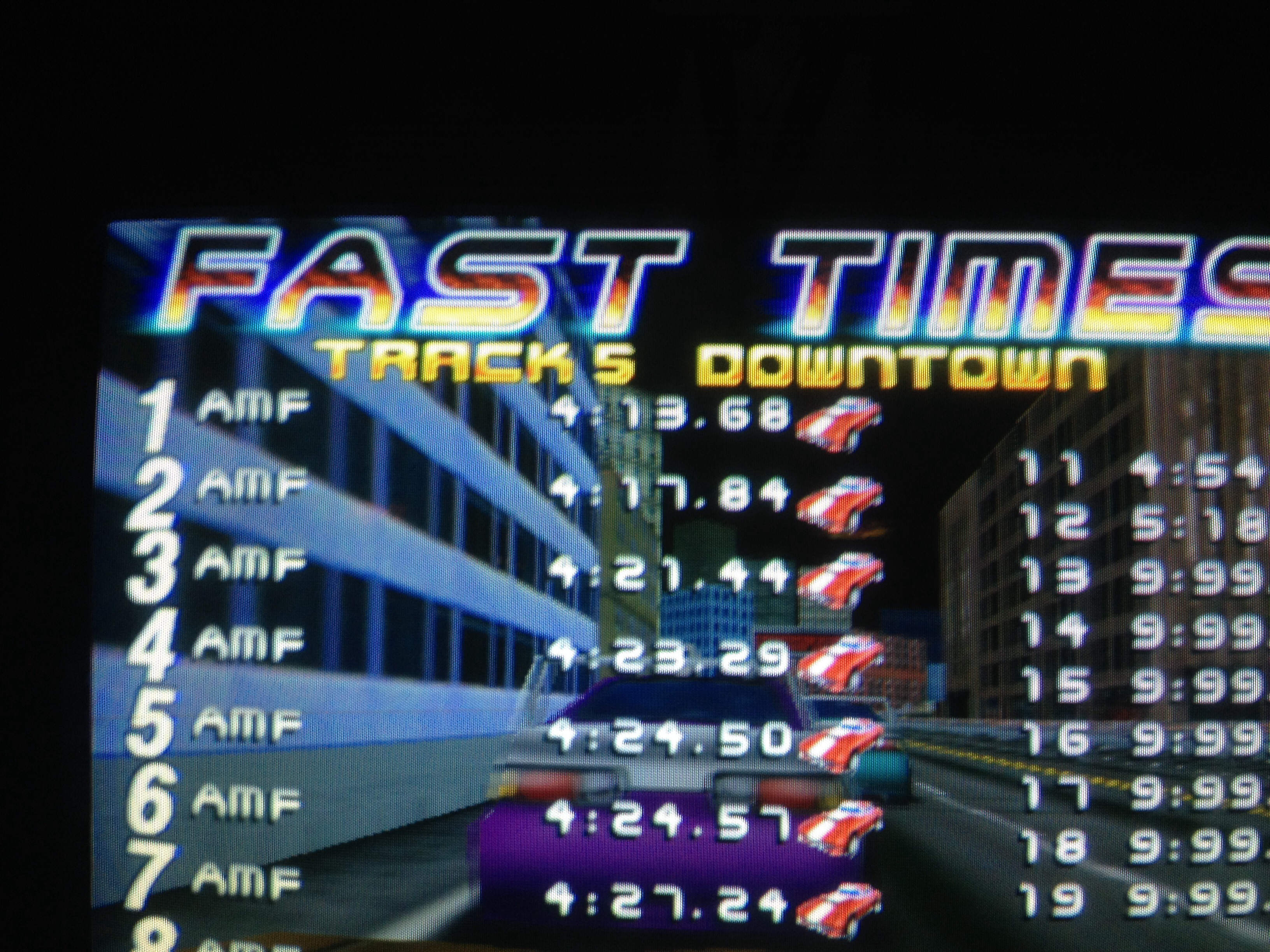 San Francisco Rush: The Rock [Track 5] time of 0:04:13.68