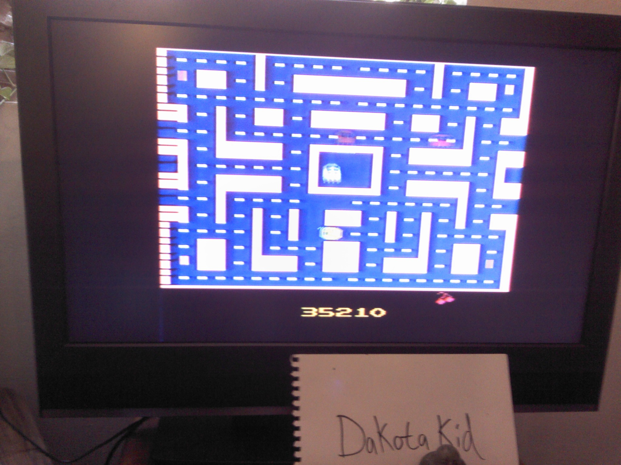 Ms. Pac-Man 35,210 points