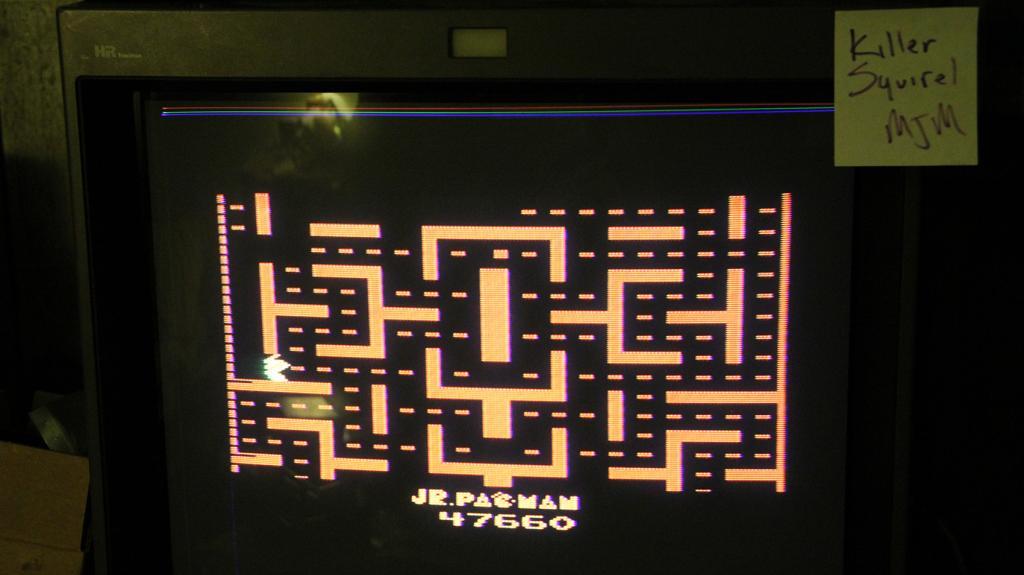 killersquirel: Jr. Pac-Man (Atari 2600) 47,660 points on 2013-09-24 00:09:07
