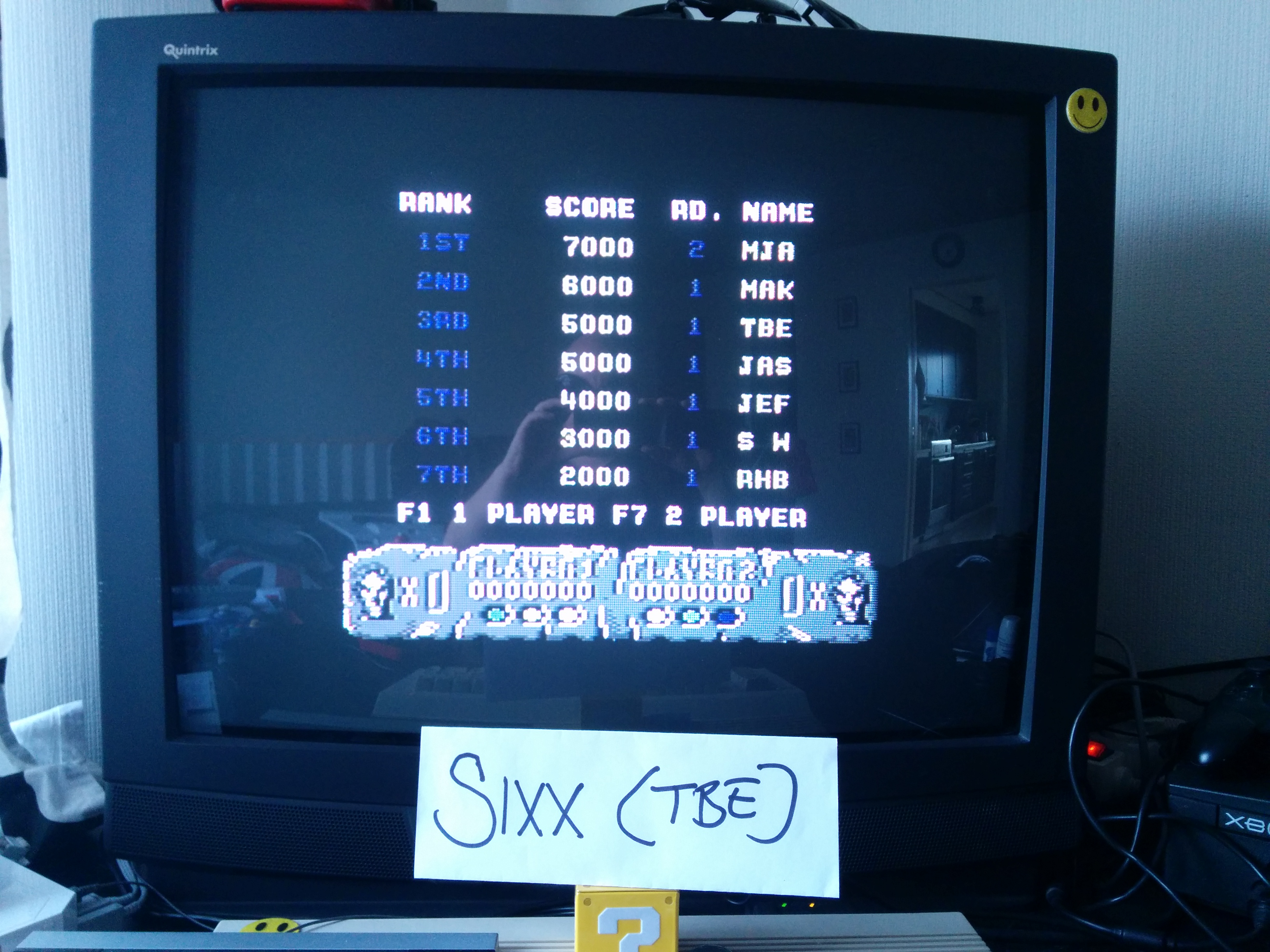 Altered Beast 5,000 points