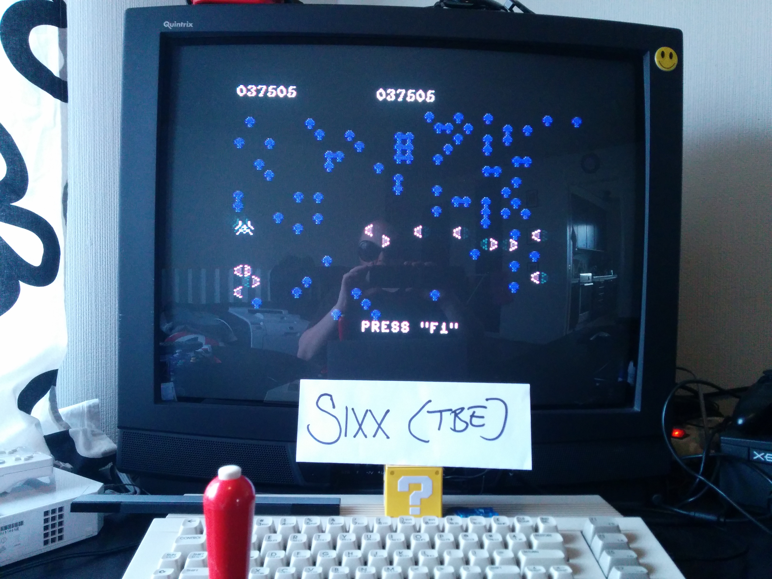 Sixx: Centipede (Commodore 64) 37,505 points on 2014-04-02 12:04:04