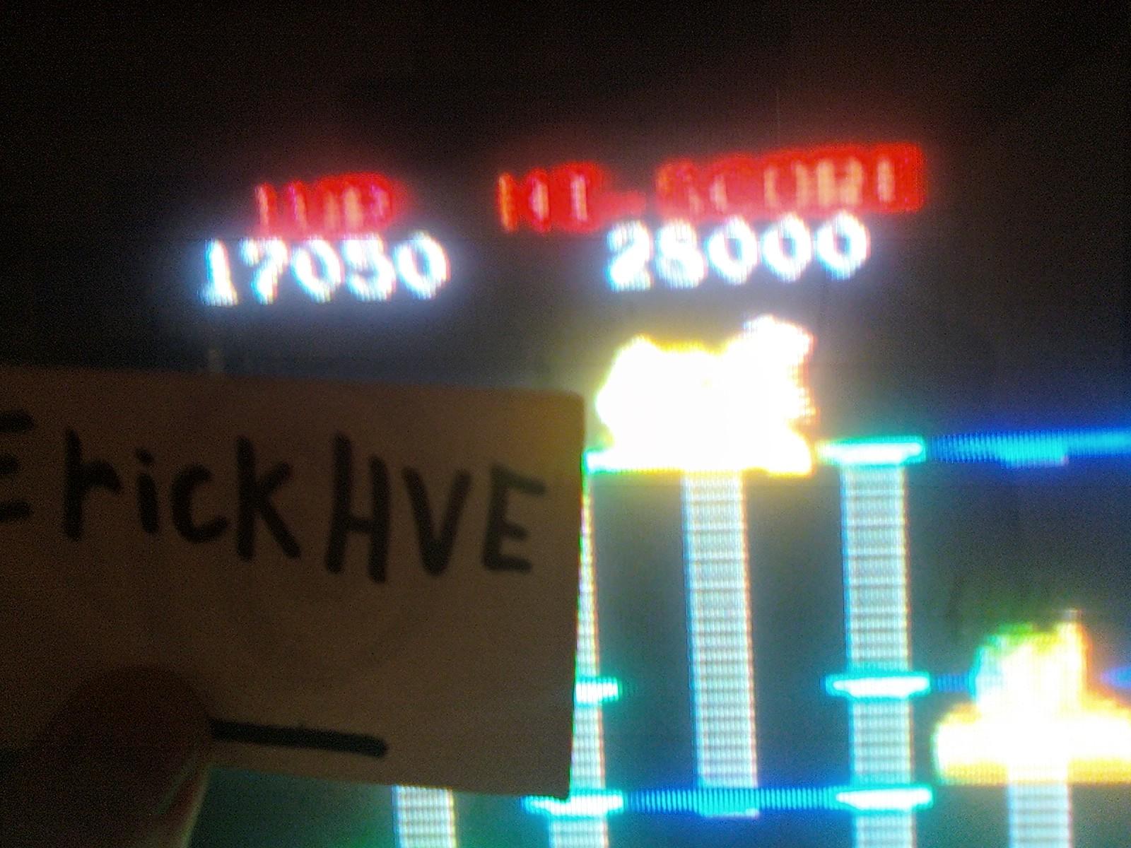 BurgerTime 17,050 points