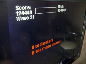 Pester [Arcade Classic Mode] 124,440 points