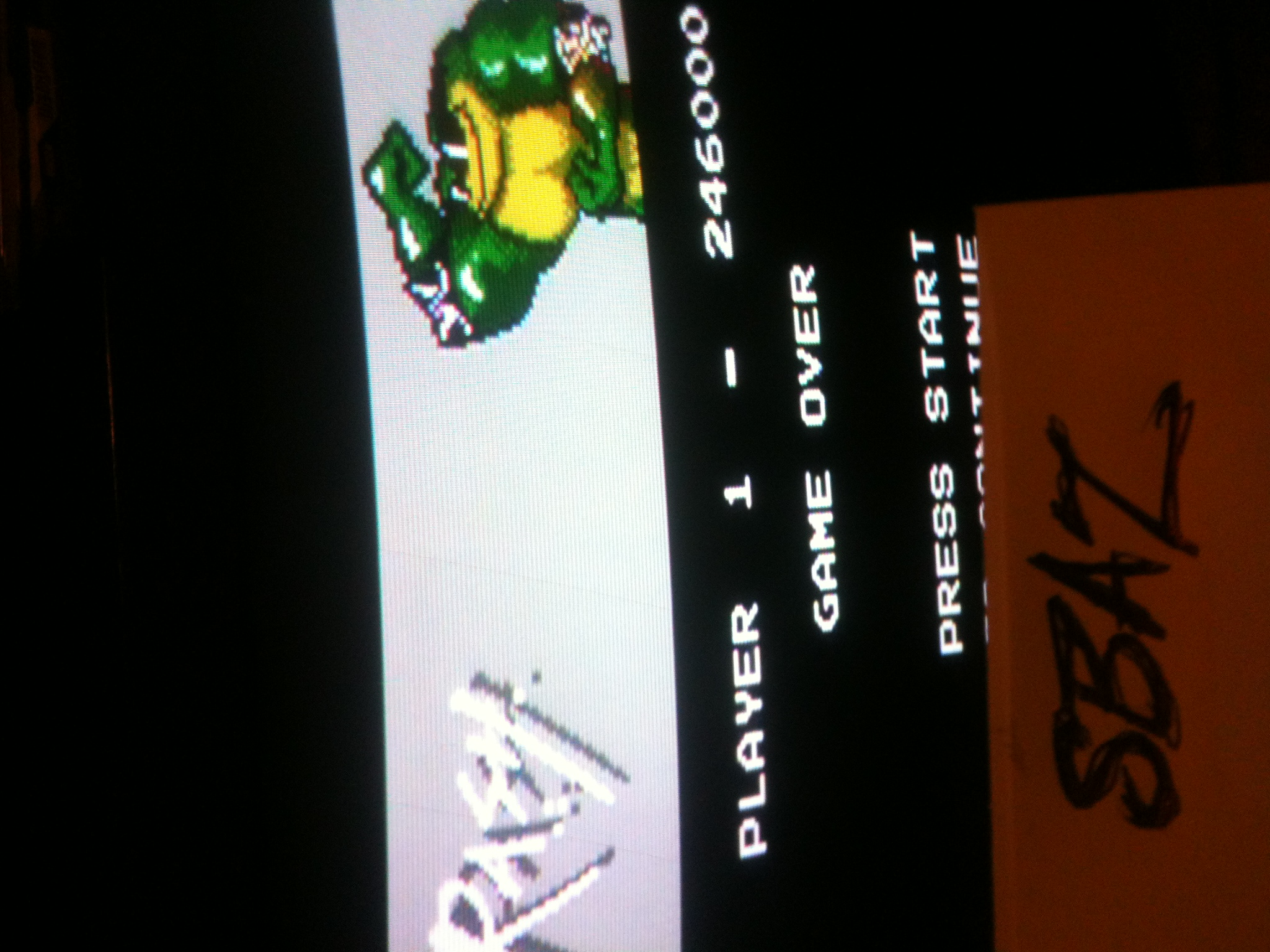Battletoads 246,000 points