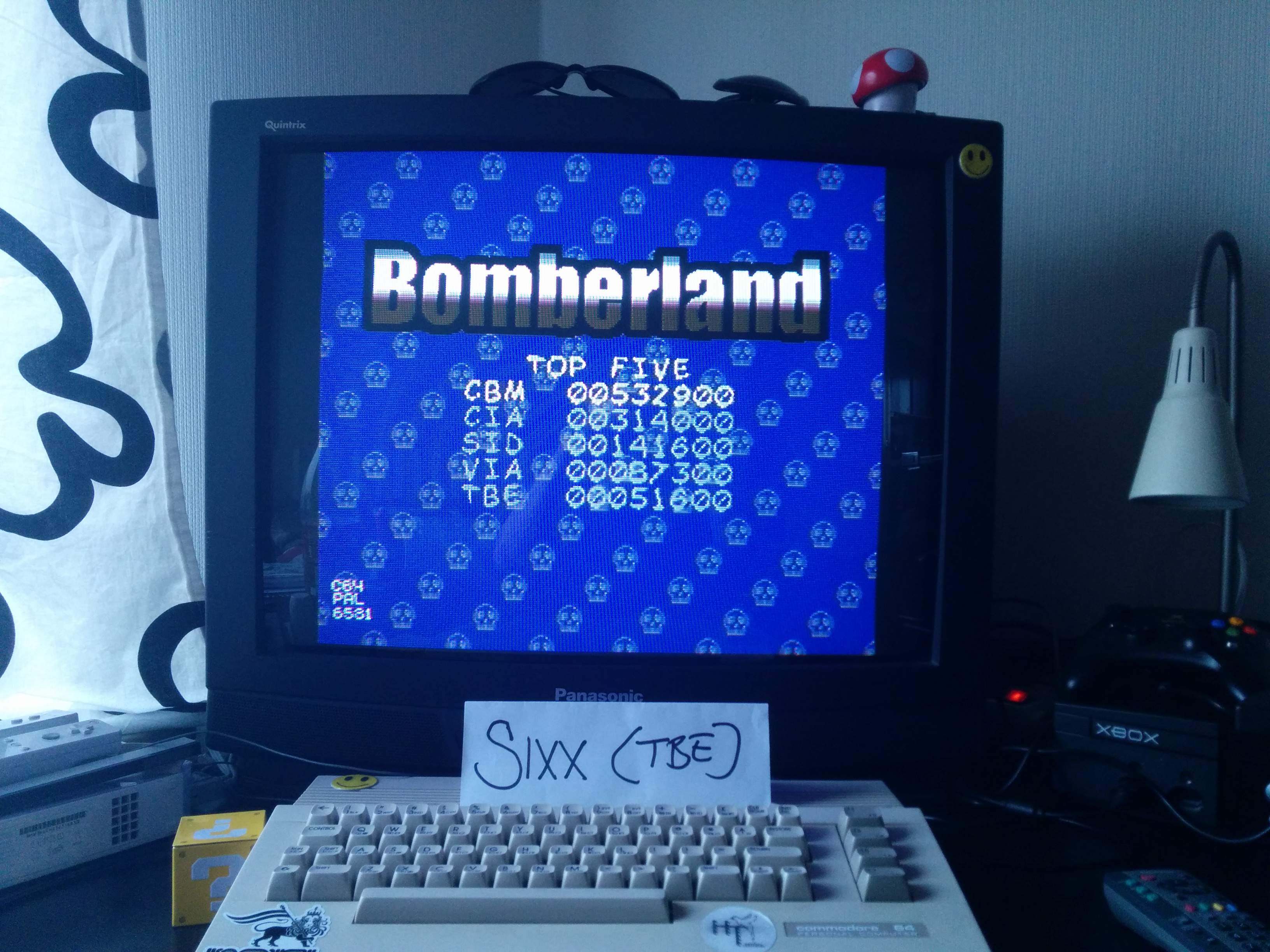 Bomberland 51,600 points