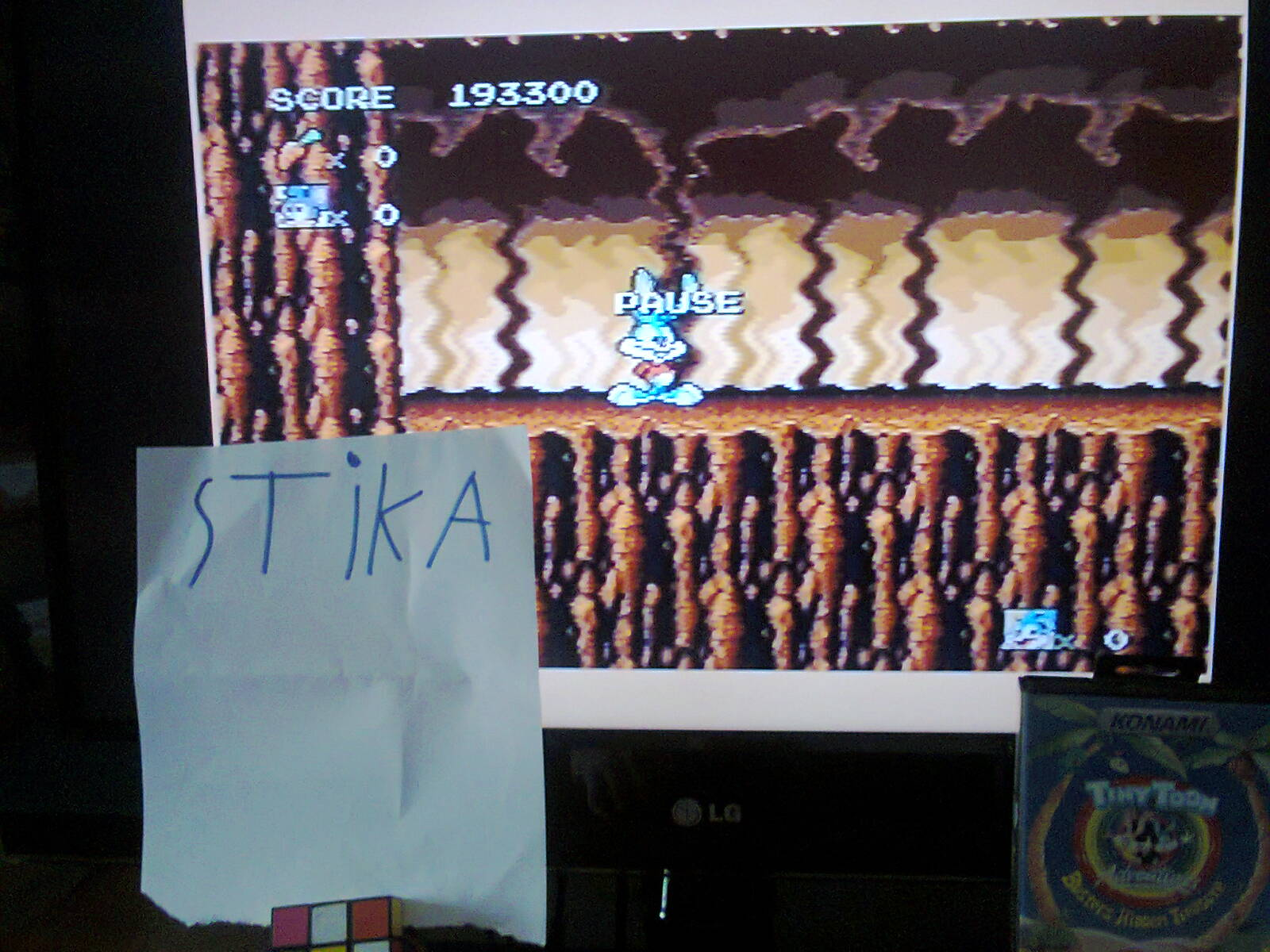 stika: Tiny Toon Adventures: Buster