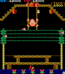 Donkey Kong 3 62,000 points