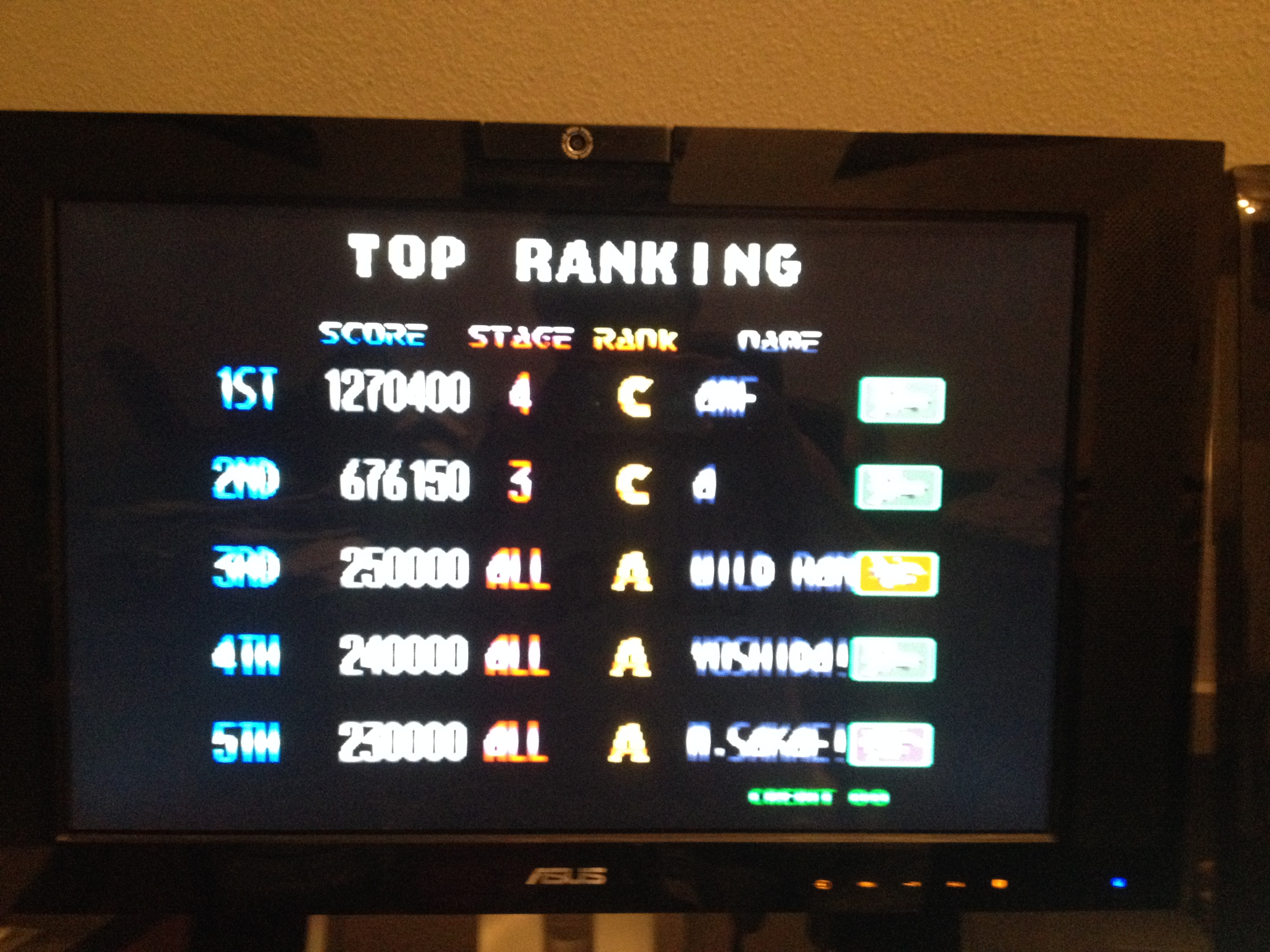 Blazing Star 1,270,400 points