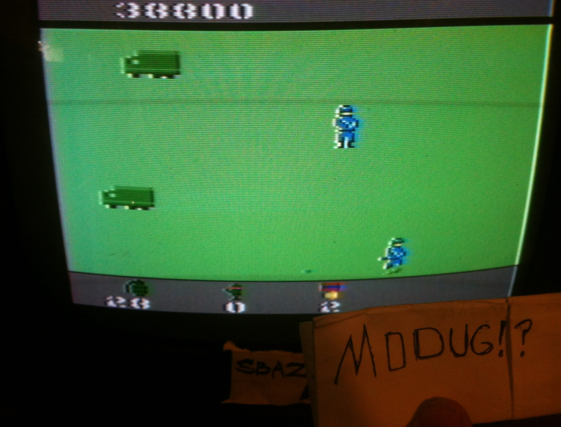 MODUG: Commando (Atari 2600) 38,800 points on 2014-04-09 16:24:33
