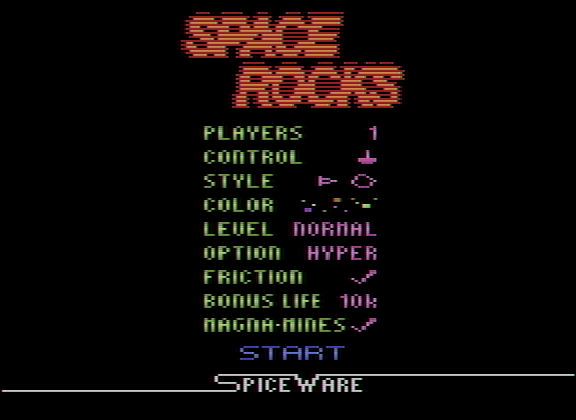 Space Rocks 42,780 points