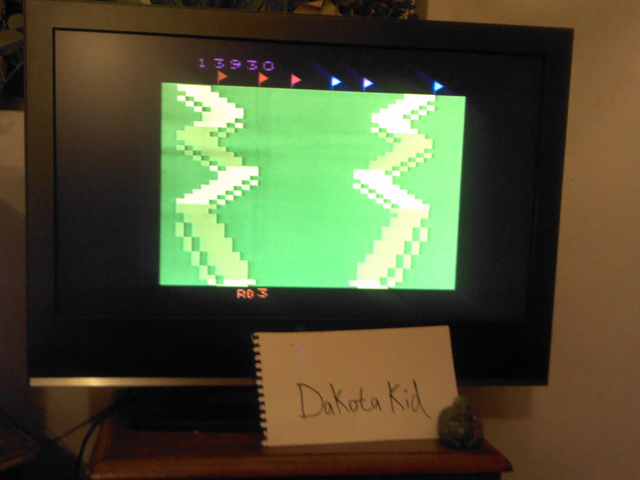 DakotaKid: Up N Down (Atari 2600 Novice/B) 13,930 points on 2014-04-09 23:36:09