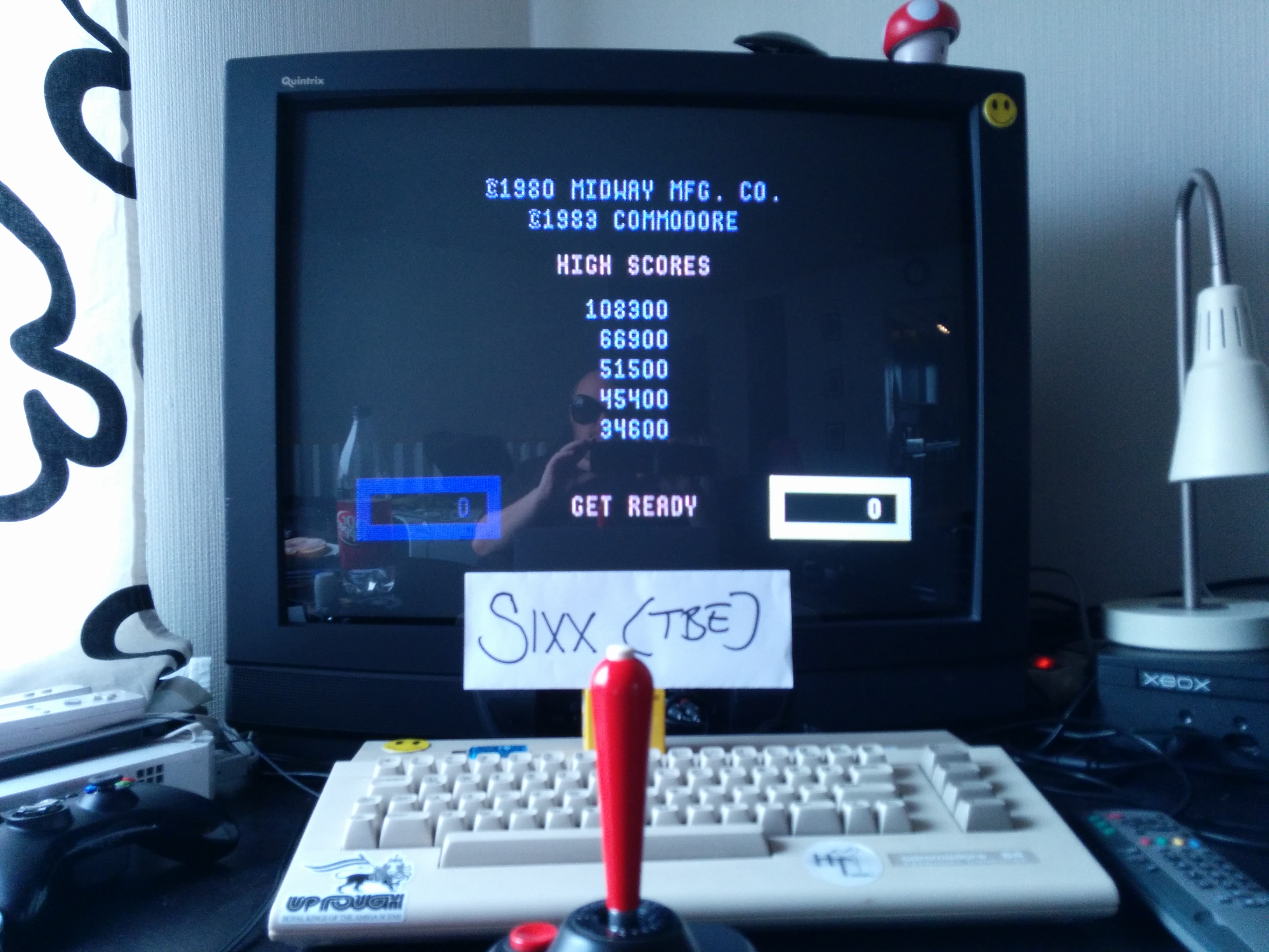 Sixx: Wizard of Wor (Commodore 64) 108,300 points on 2014-04-10 02:53:45