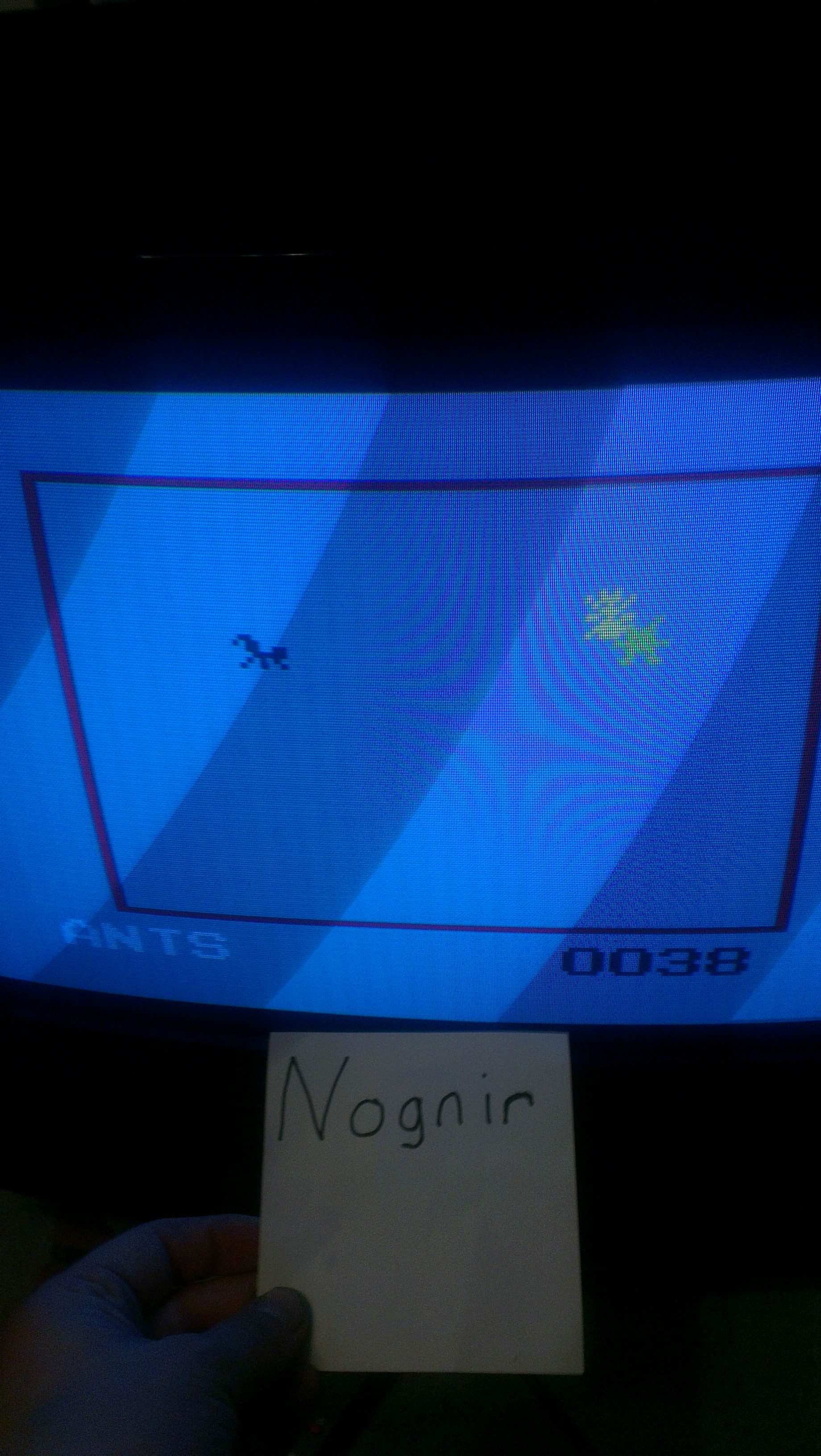Nognir: Ants (Odyssey 2 / Videopac) 38 points on 2014-04-11 19:11:07