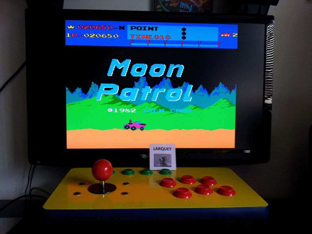 Moon Patrol 20,650 points