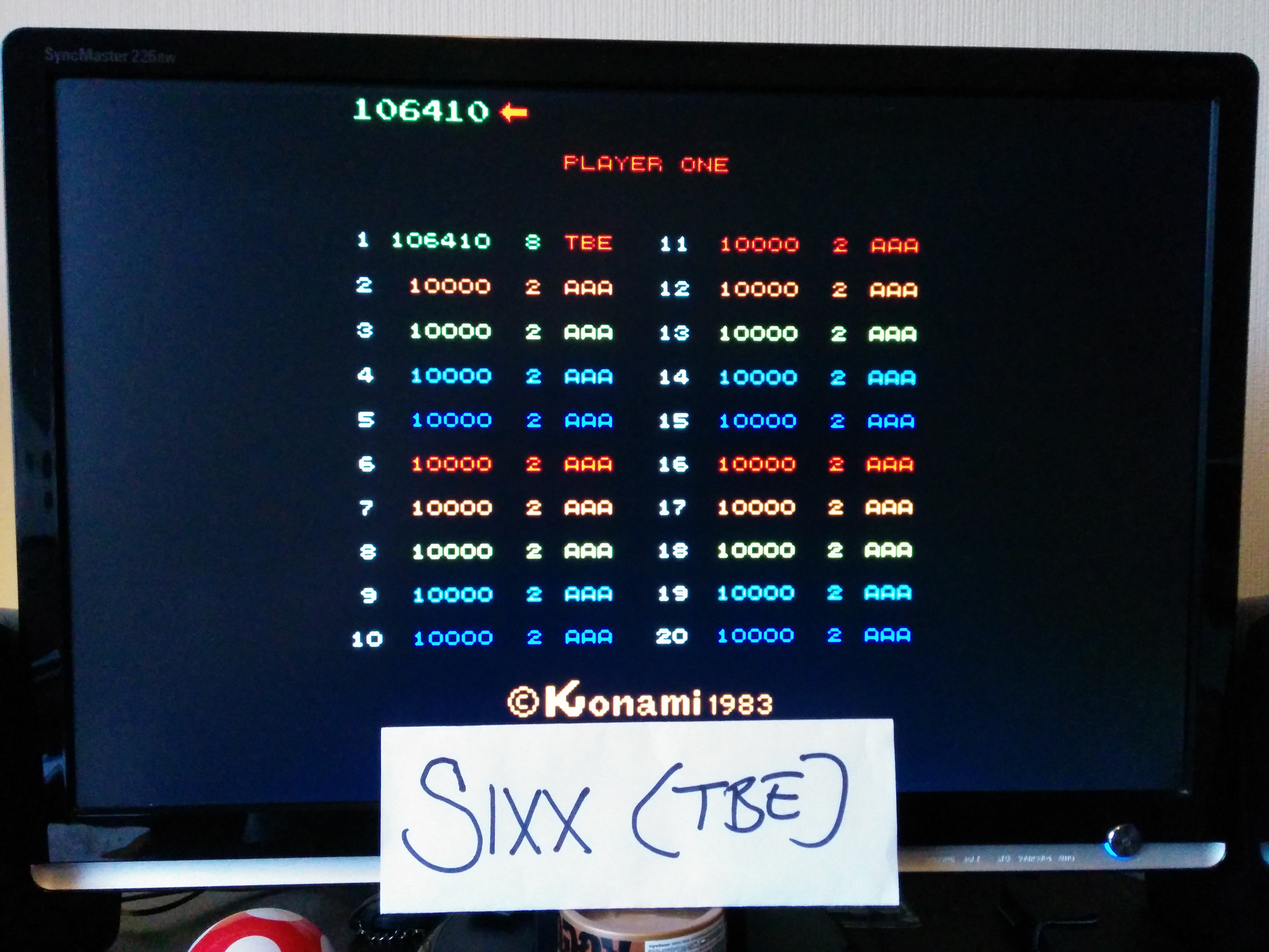 Sixx: Juno First (Arcade Emulated / M.A.M.E.) 106,410 points on 2014-04-12 12:22:37