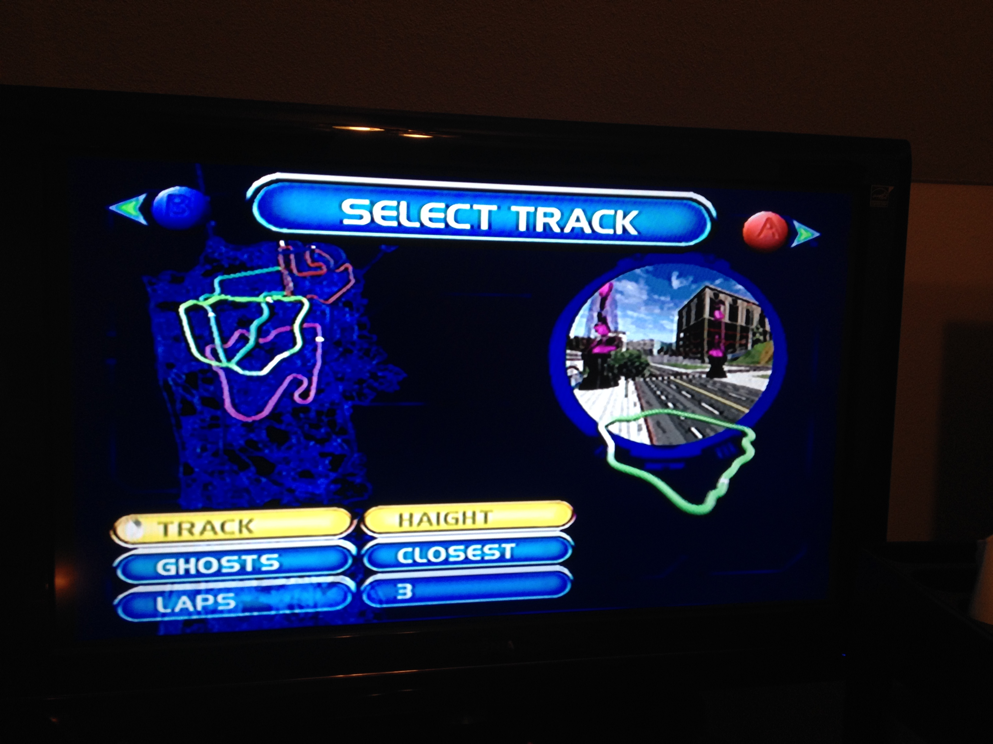FosterAMF: San Francisco Rush 2049 [Haight] (Dreamcast) 0:03:58.658 points on 2014-04-14 01:00:52
