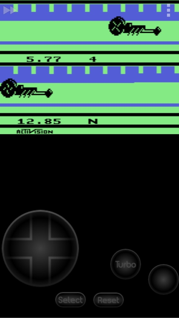 Jclbuxfan: Dragster (Atari 2600 Emulated Expert/A Mode) 0:00:05.77 points on 2014-04-15 13:49:41