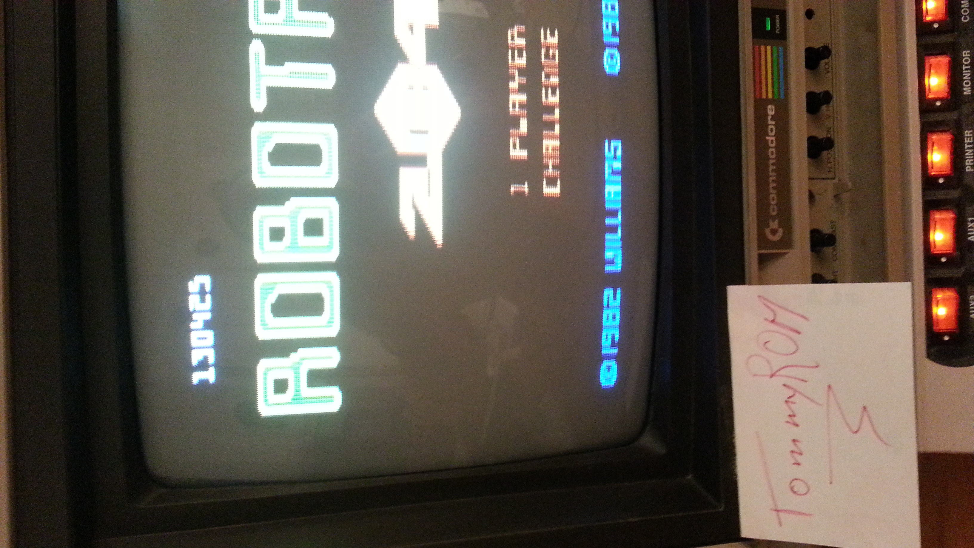 TommyROM: Robotron 2084: Challenge (Atari 7800) 130,425 points on 2014-04-15 22:37:04