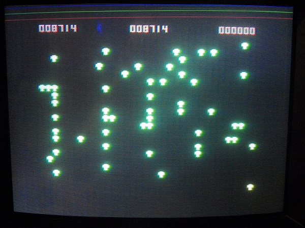 Centipede 8,714 points