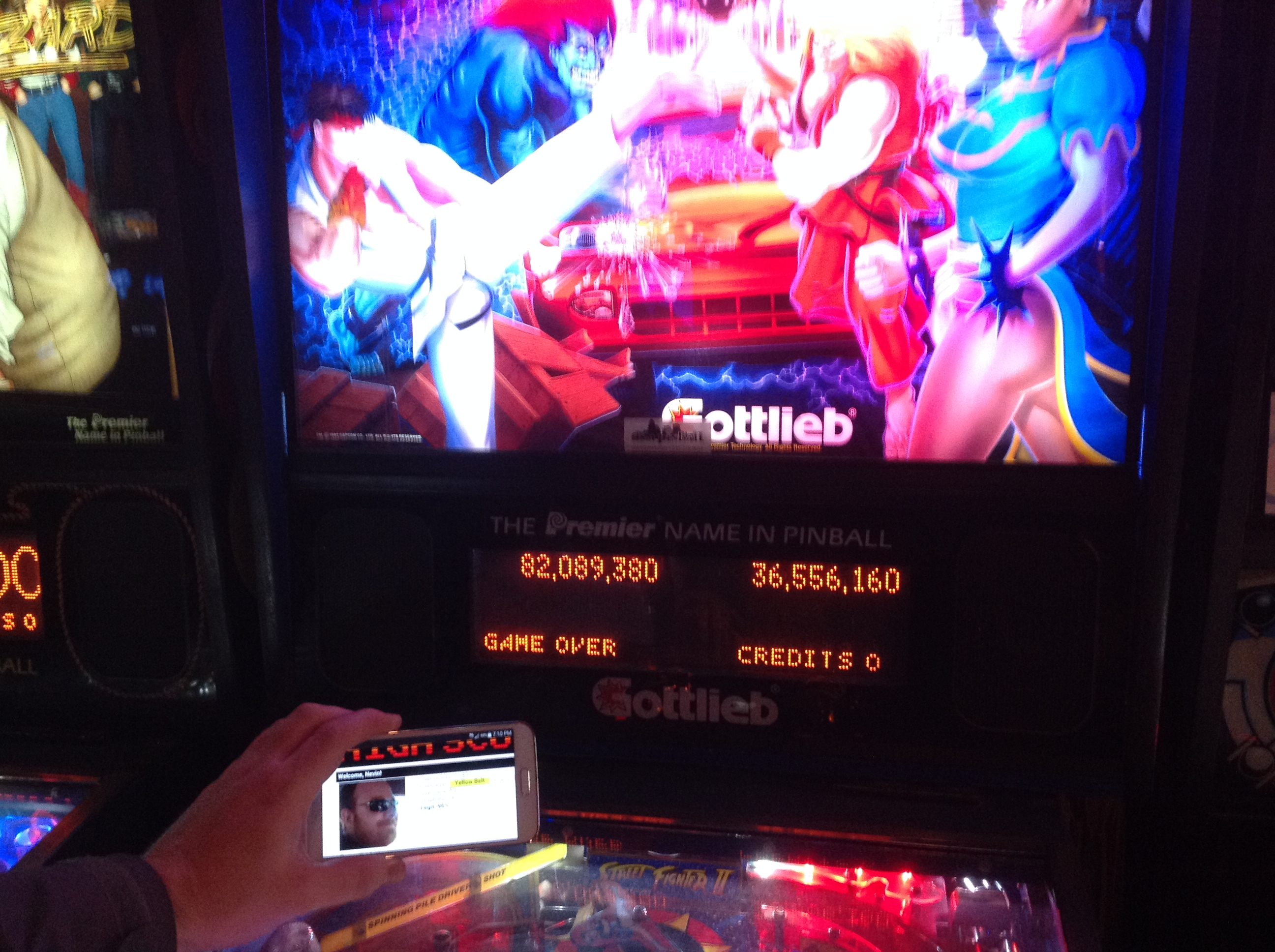 Street Fighter II 82,089,380 points