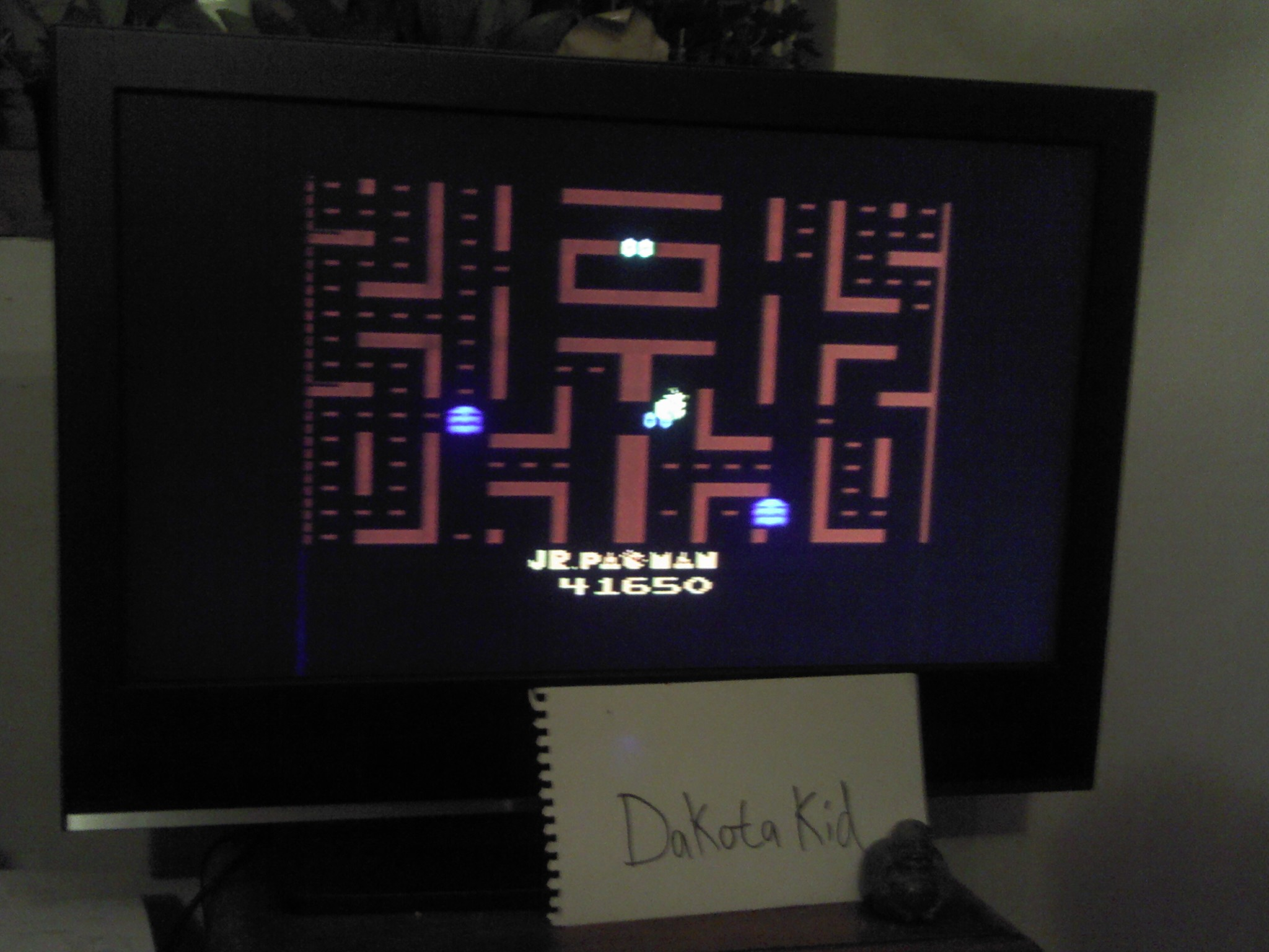 Jr. Pac-Man 41,650 points