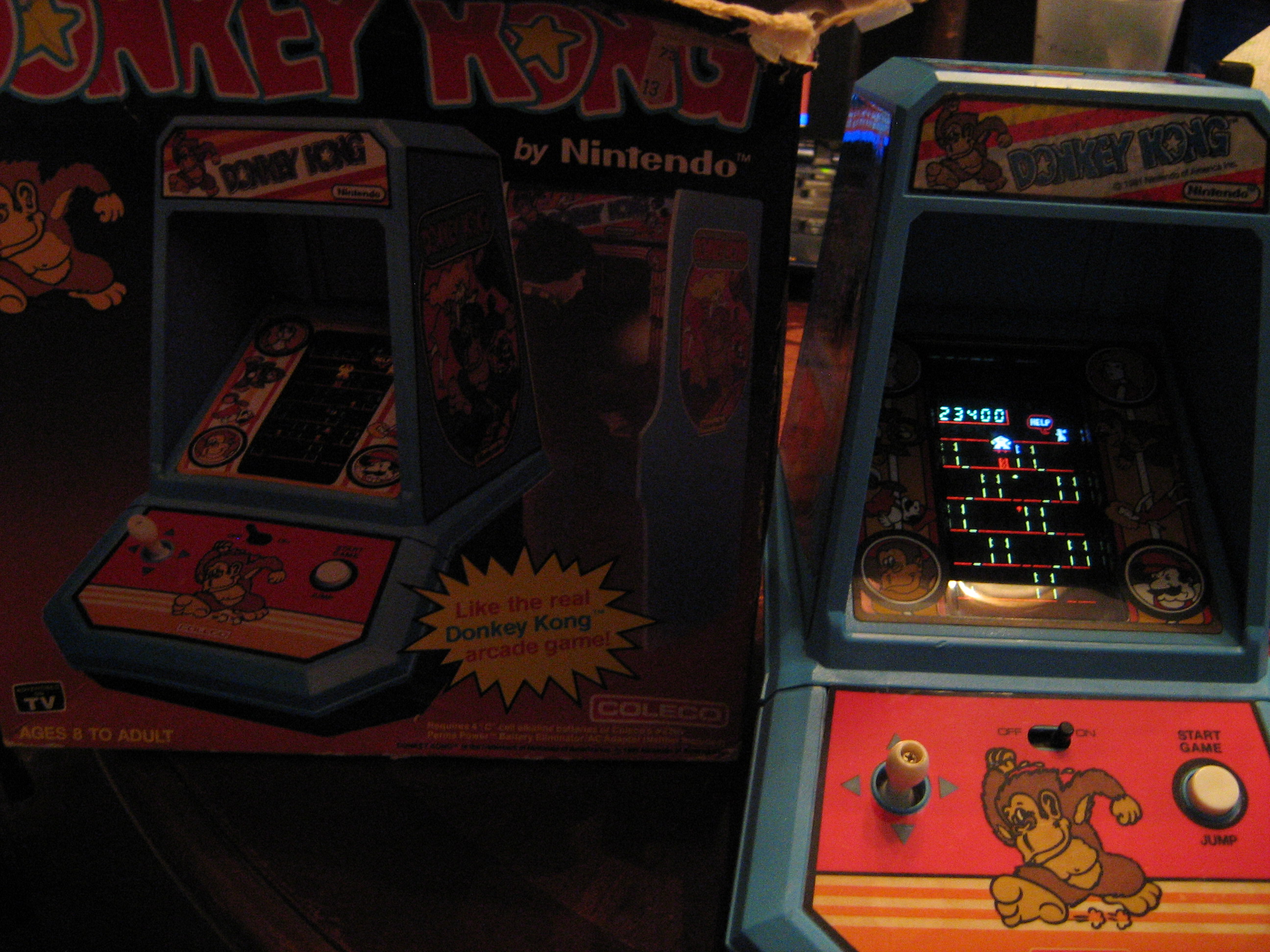 arenafoot: Coleco Donkey Kong (Dedicated Handheld) 23,400 points on 2014-04-19 11:54:14