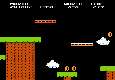 Super Mario Bros.: One Life Only 201,500 points