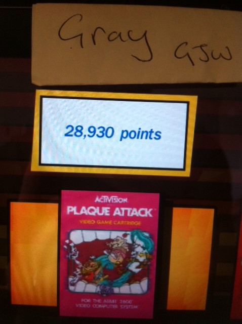 Activision Anthology: Plaque Attack [Game 1B] 28,930 points