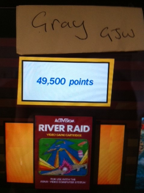 Activision Anthology: River Raid [Game 1B] 49,500 points