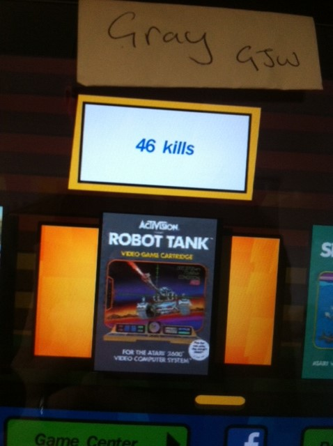 Activision Anthology: Robot Tank [Game 1B] 46 points