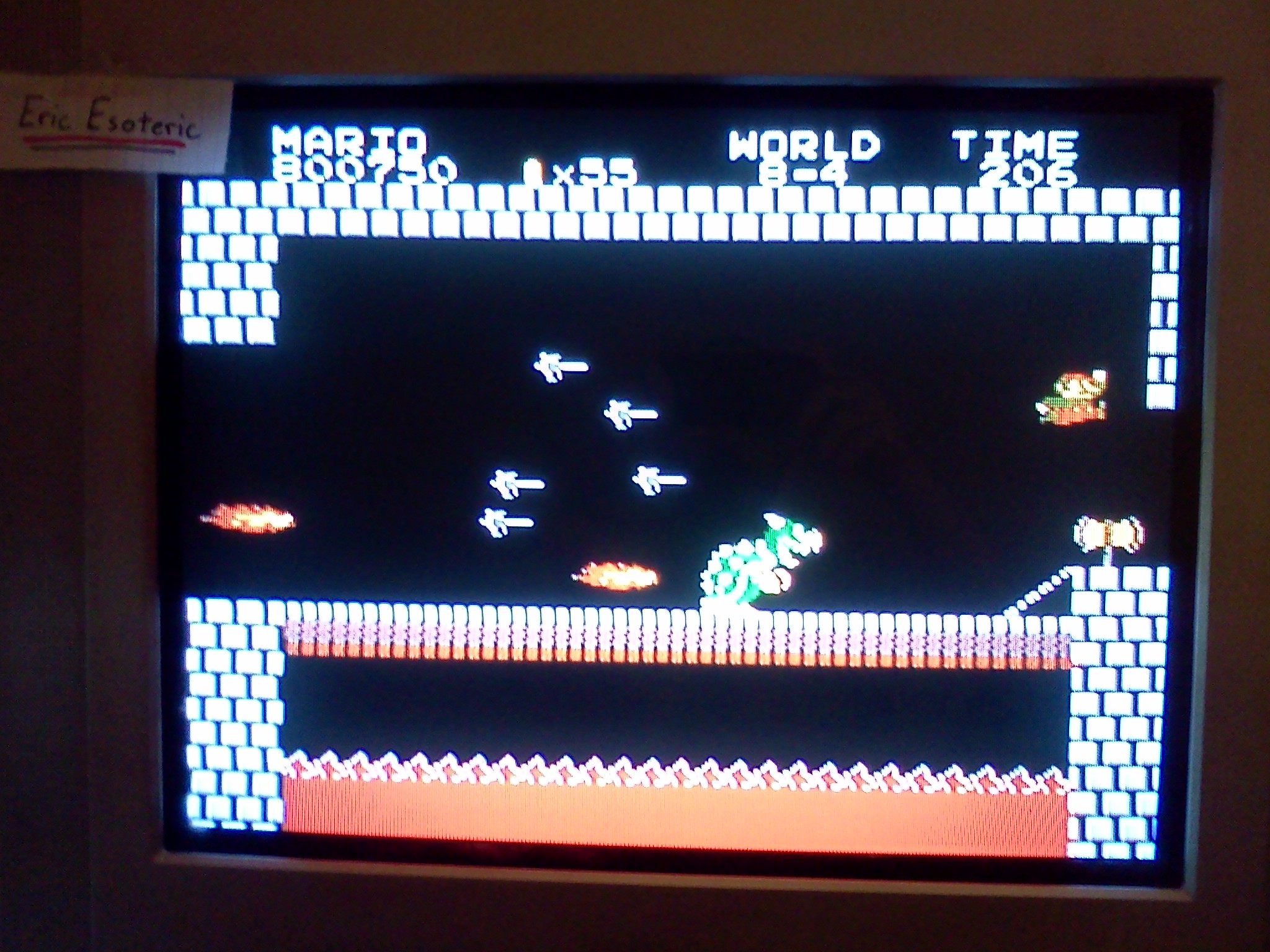 Super Mario Bros. 800,750 points