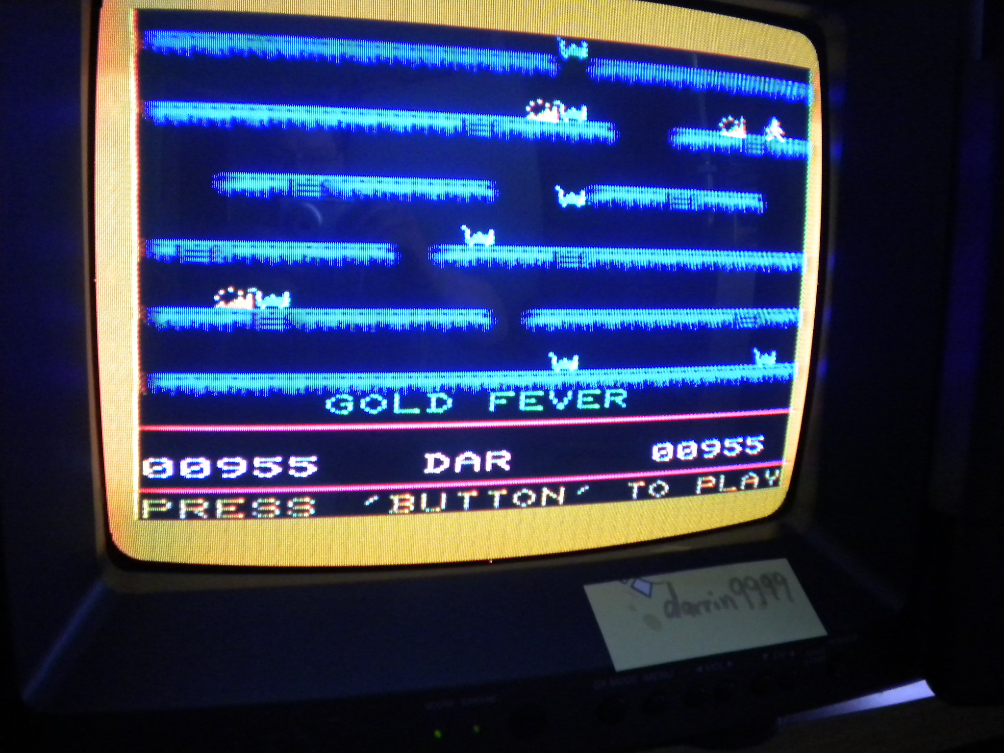 Gold Fever 955 points