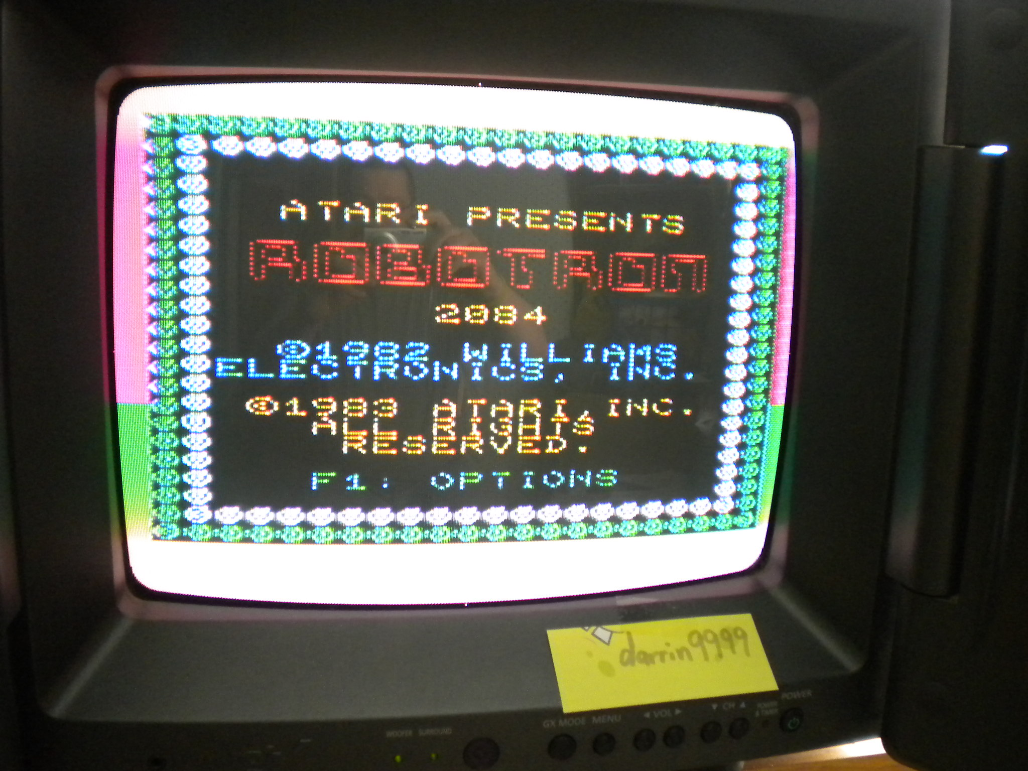 Robotron 2084 132,675 points