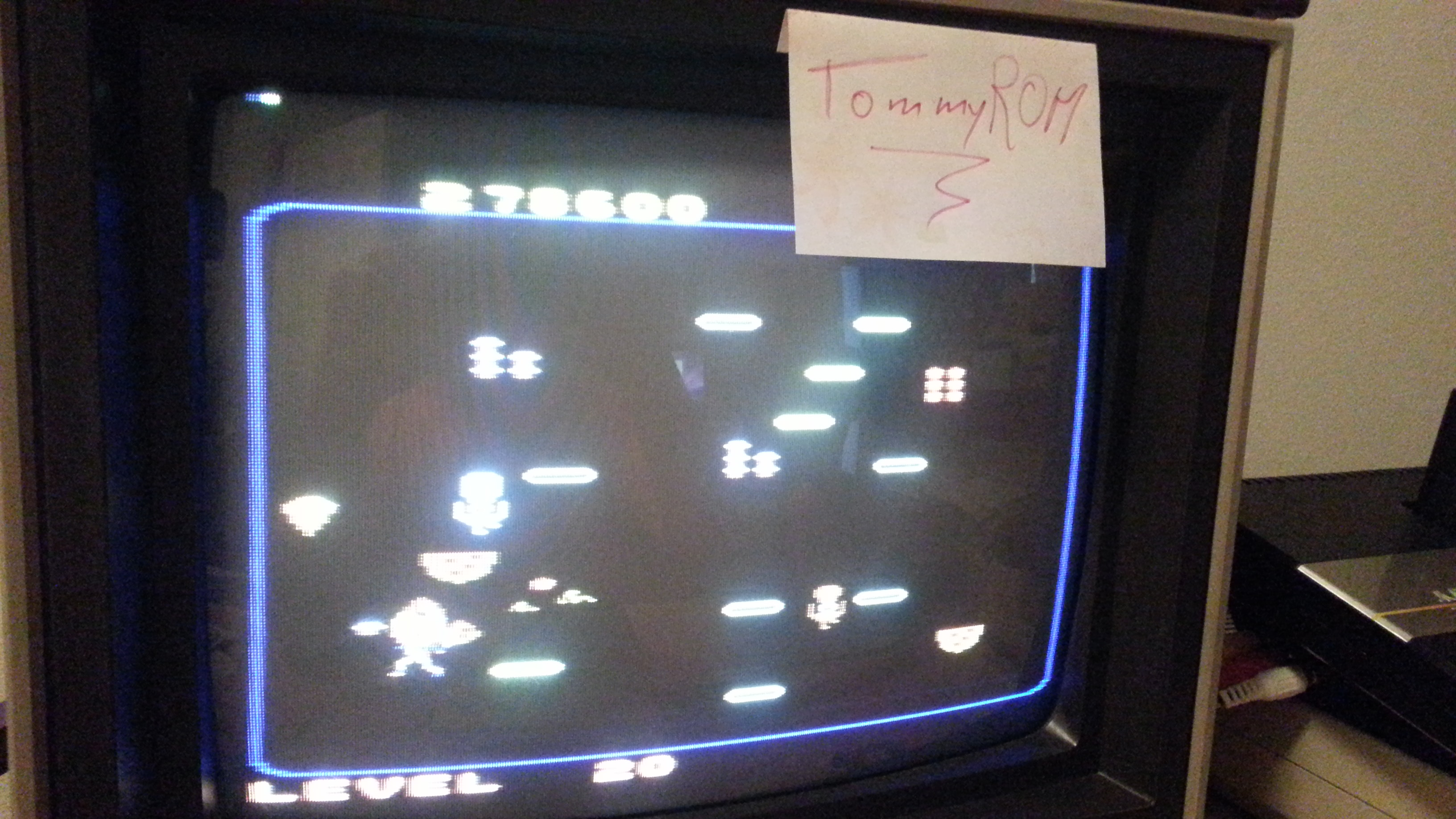 TommyROM: Food Fight: Intermediate (Atari 7800) 278,600 points on 2014-04-20 21:45:51