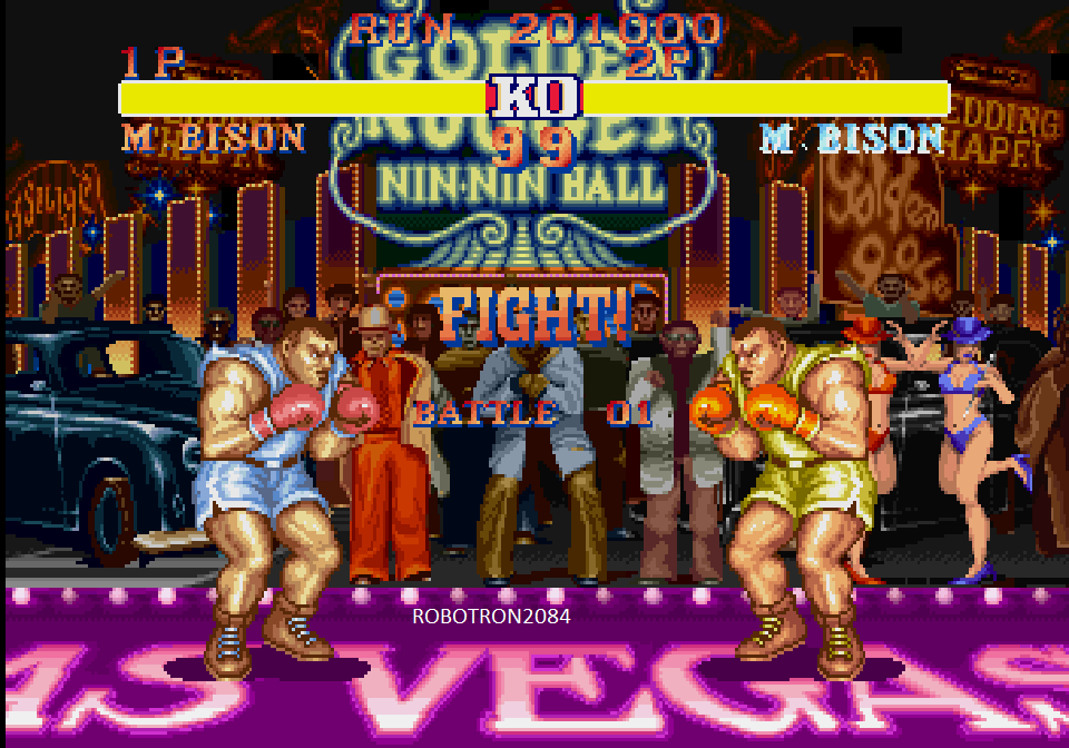 Capcom Generations 5: Street Fighter II Champion Edition [Arcade Mode] 201,000 points
