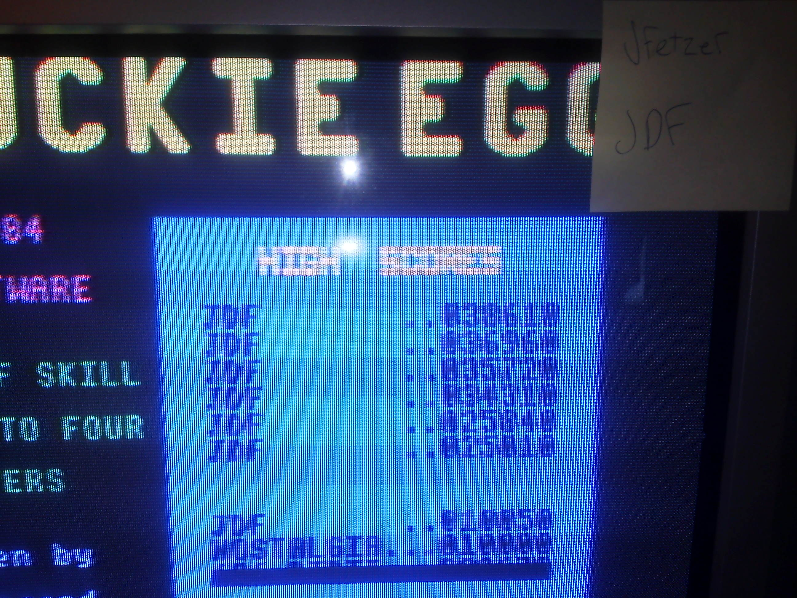 Chuckie Egg: Speed 3 38,610 points