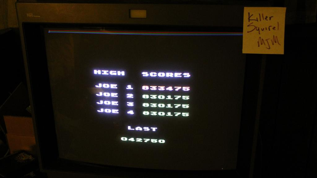 Spelunker 42,750 points