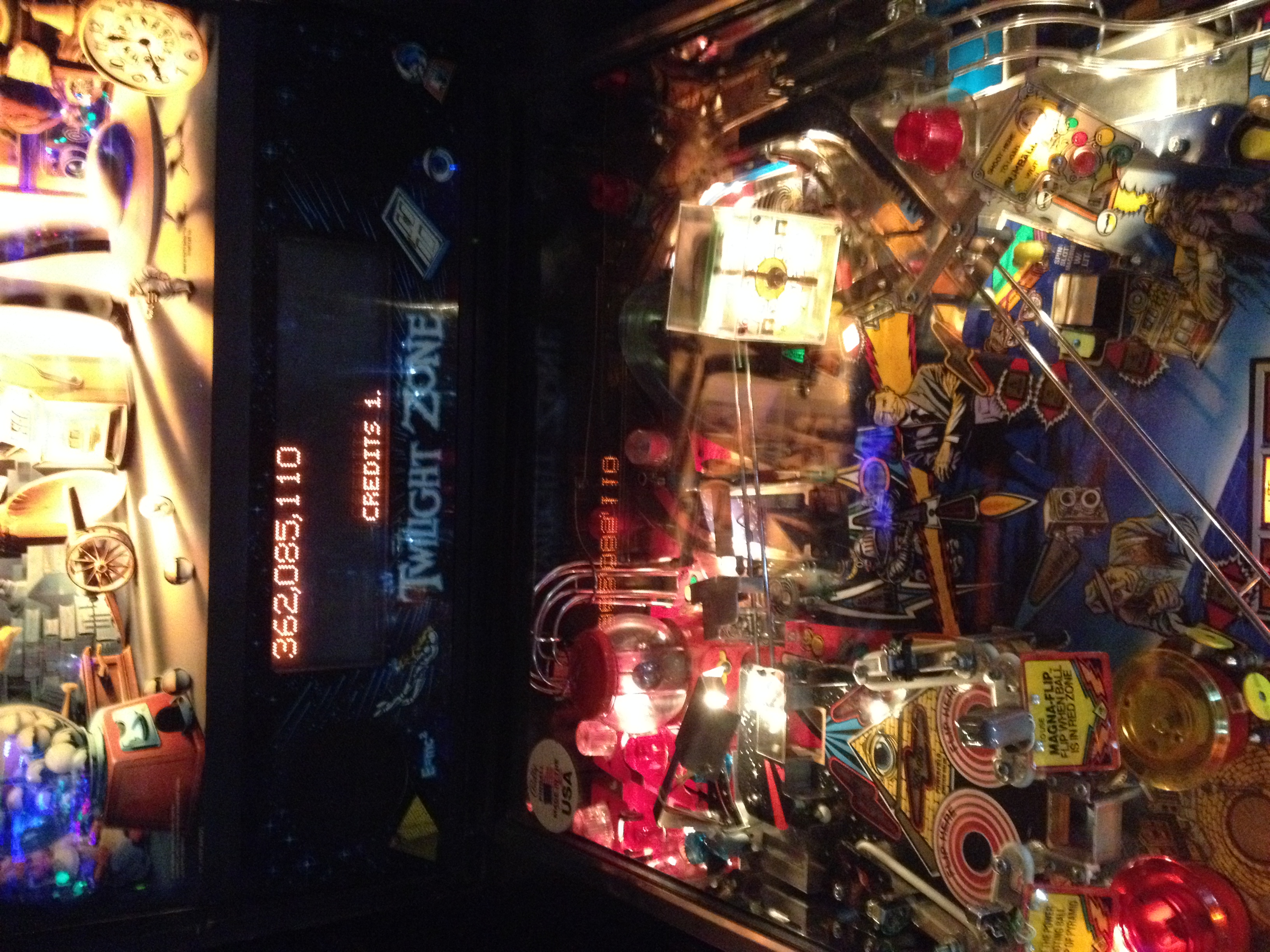 FosterAMF: Twilight Zone (Pinball: 3 Balls) 362,085,110 points on 2014-04-22 15:18:51