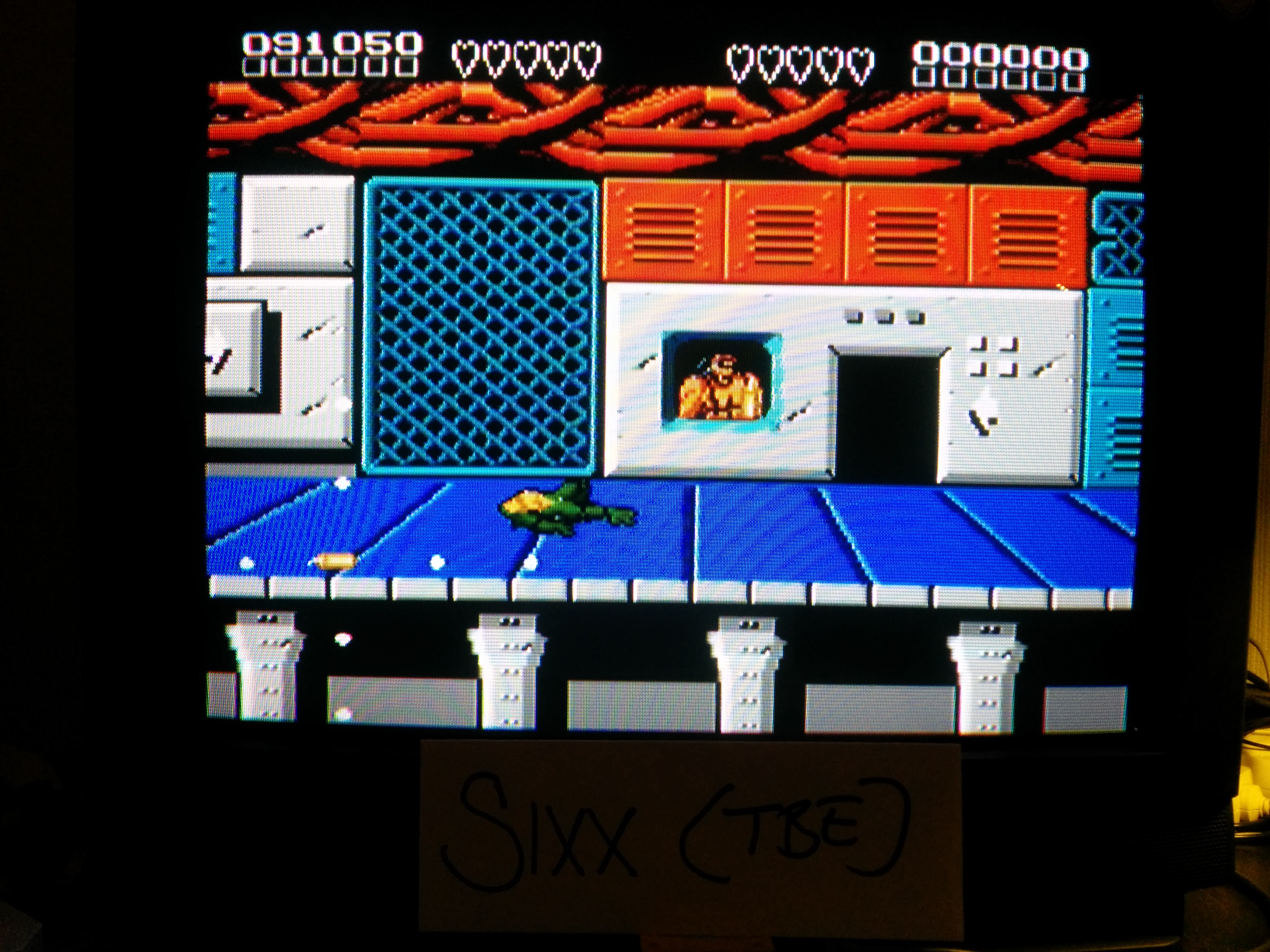Sixx: Battletoads and Double Dragon: The Ultimate Team (NES/Famicom Emulated) 91,050 points on 2014-04-22 16:11:30