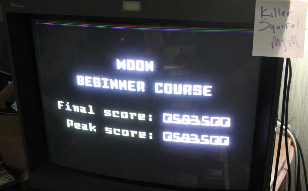 Space Patrol: Moon Beginner 583,500 points