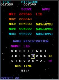 Liduario: Moon Cresta (Arcade Emulated / M.A.M.E.) 17,580 points on 2014-04-23 20:31:04