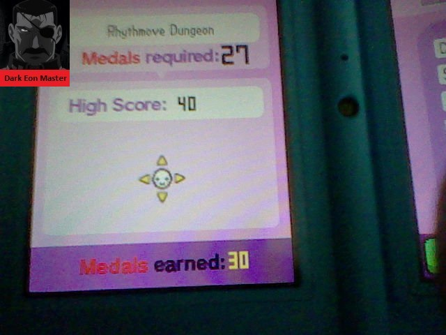 DarkEonMaster: Rhythm Heaven: Endless Games: Rhythmove Dungeon (Nintendo DS) 40 points on 2014-04-24 01:59:32