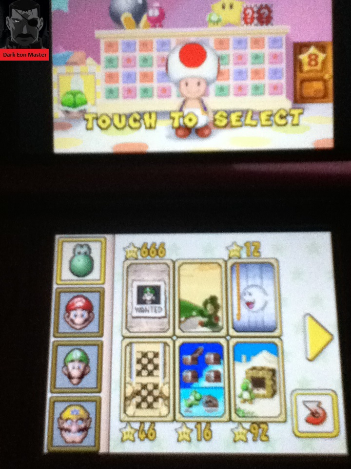 Super Mario 64 DS: Puzzle Panel 46 points