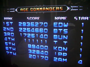 kollision: Galaxy Force II Neo Classic (Playstation 2) 2,935,270 points on 2014-04-24 10:04:57