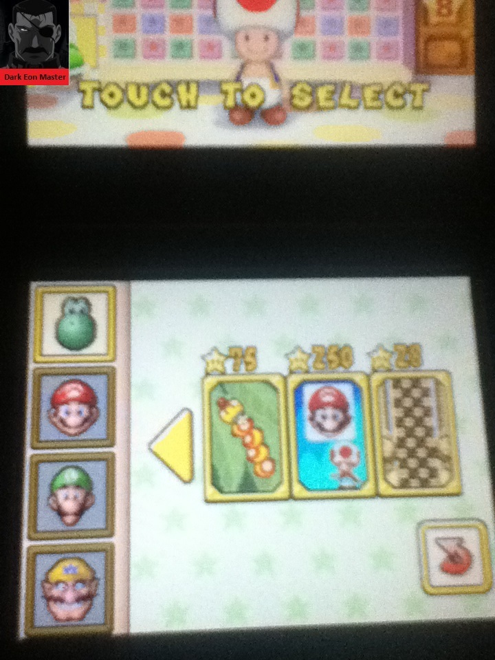 Super Mario 64 DS: Mix-a-Mug 250 points