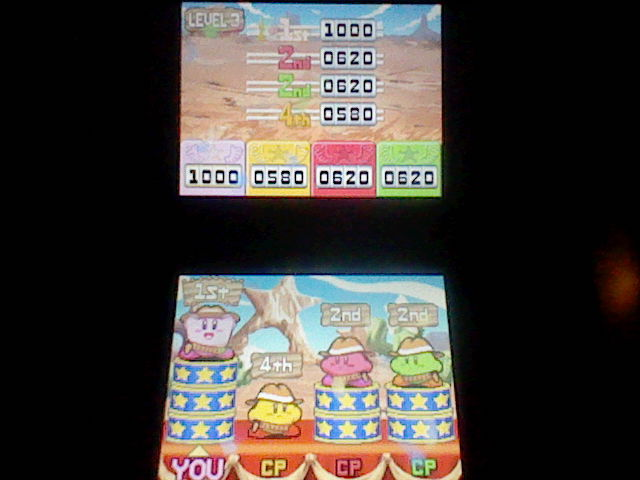 Kirby Super Star Ultra: Kirby on the Draw: Level 3 1,000 points