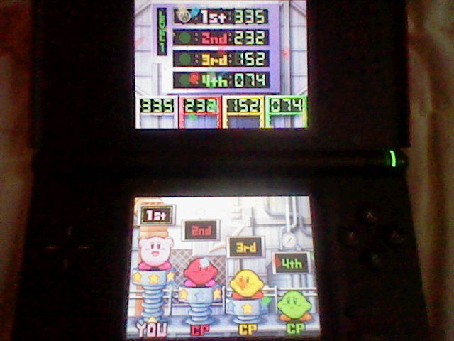 DarkEonMaster: Kirby Super Star Ultra: Snack Tracks: Level 1 (Nintendo DS) 335 points on 2014-04-24 13:41:56
