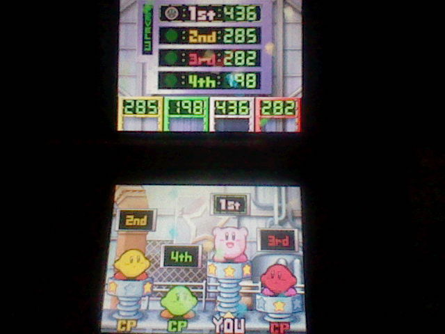 DarkEonMaster: Kirby Super Star Ultra: Snack Tracks: Level 3 (Nintendo DS) 436 points on 2014-04-24 14:07:50