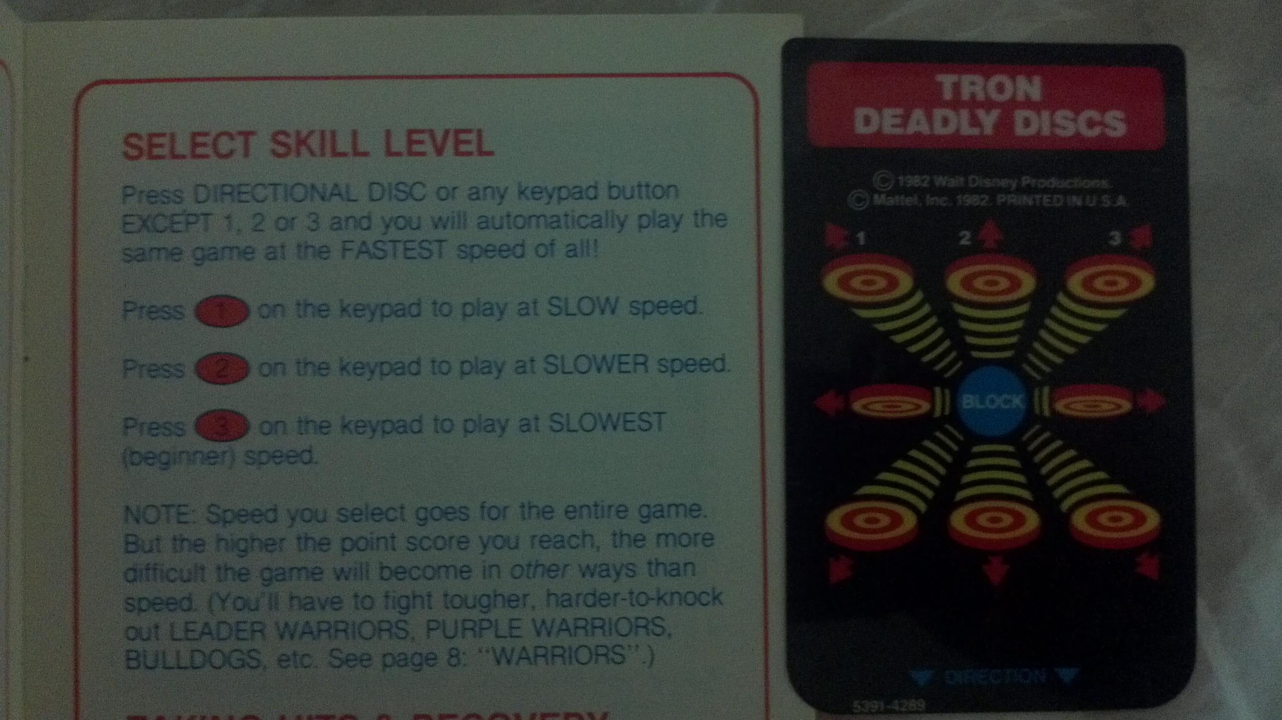 Liduario: Tron: Deadly Discs [Skill: Disc] (Intellivision) 203,150 points on 2014-04-25 08:49:54